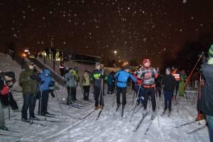 150 osób stawiło się na Biegówkową Masę Krytyczną w Warszawie