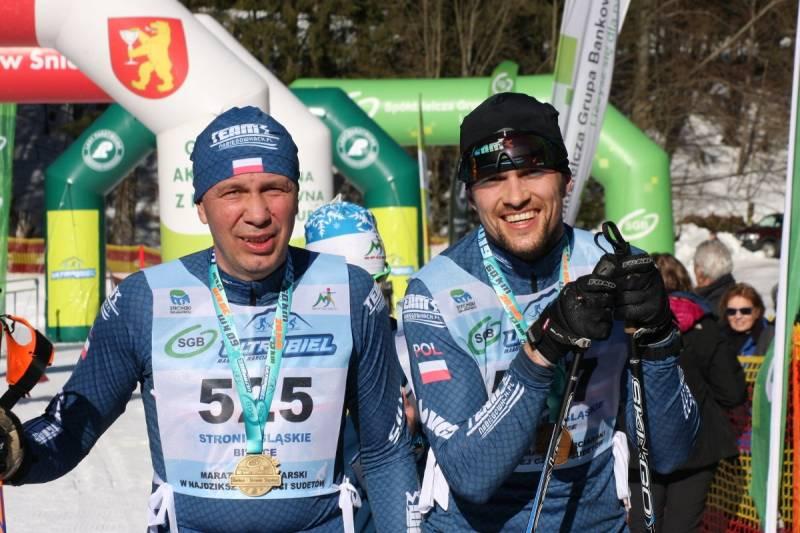 Jan Łacek i Kamil Krzywicki na 1. i 2. miejscu Ultrabiel 13 km CT