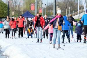 W Warszawie już biegali na nartach, wcześniej niż w górach