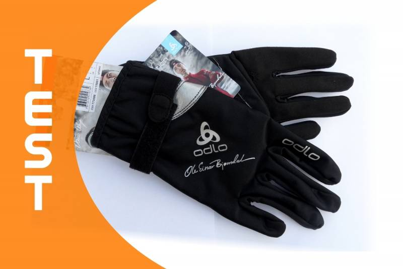 Test rękawiczek Odlo OEB Energy Warm