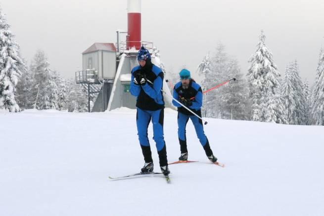 Wirtualny kurs biegania na nartach - technika łyżwowa odc. 1. - wstęp i łyżwowanie