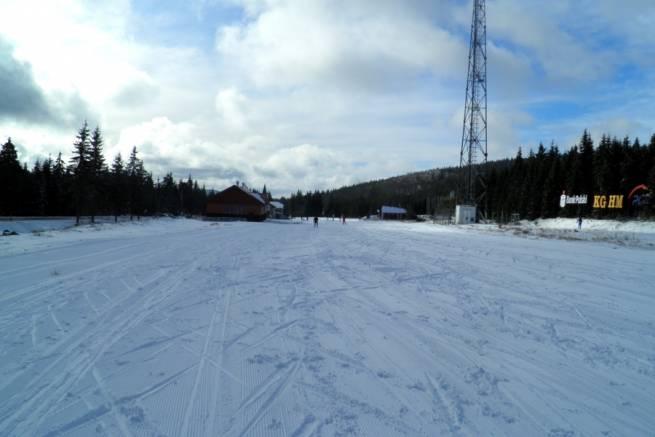 28 października 2012 - w Jakuszycach leży śnieg