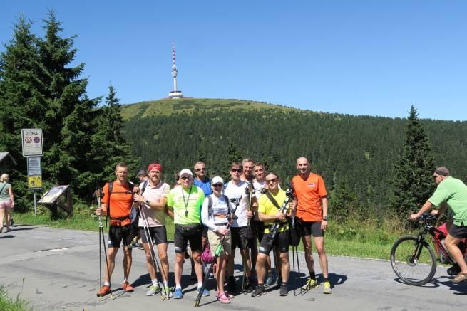 Udane starty teamu nabiegowkach.pl w czeskich uphillach w pierwszy weekend sierpnia