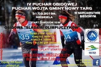 Jeszcze w marcu możesz wystartować w biegu narciarskim - IV Puchar Obidowej