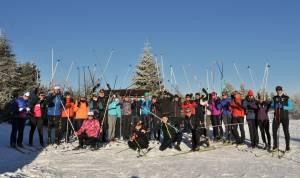 Społeczność nabiegowkach.pl witała Nowy Rok na nartach w Dusznikach-Zdroju