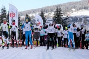 Start kobiet w III Pucharze Kościeliska w styczniu 2016