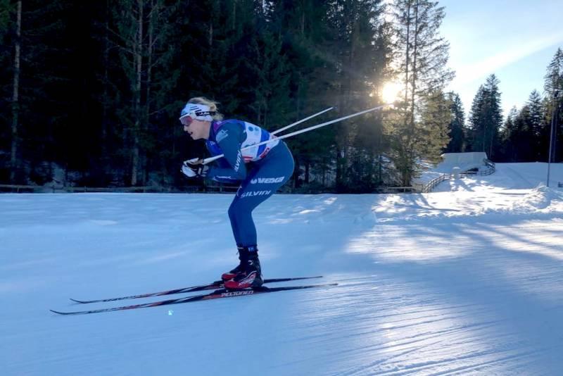 Agata Szlachetka na trasie biegu 7,5 km F