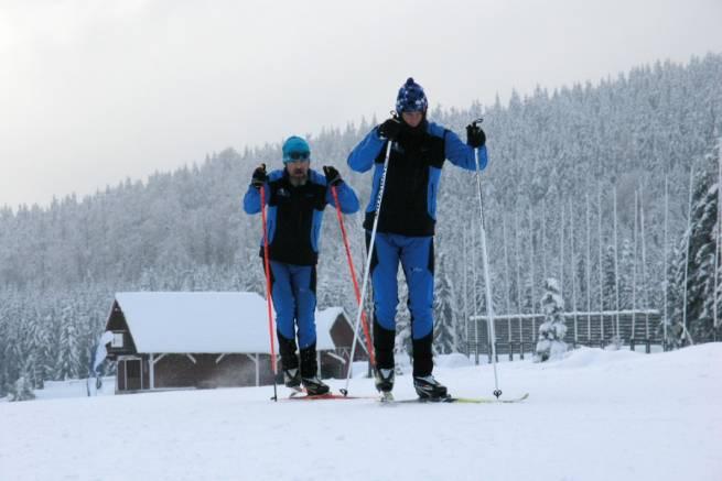 Wirtualny kurs biegania na nartach - technika łyżwowa odc. 3. - jednokrok łyżwowy