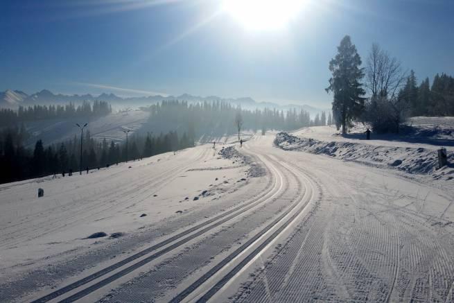 Doskonałe warunki do biegania panują w Białce Tatrzańskiej