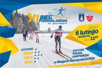 XI Bieg Podhalański zaplanowano na pierwszą sobotę lutego 2021