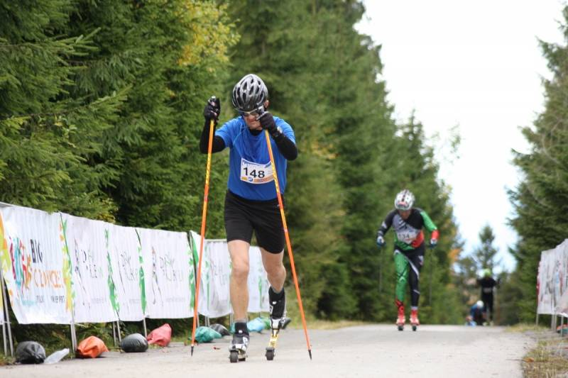 Biegiem na Przehybę zakończył się sezon startów na nartorolkach w Polsce