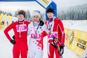 Od lewej: Anna Gałek, Joanna Bronisz i Monika Judka