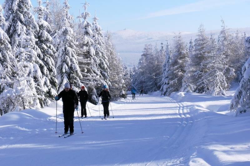 Trasa Radiowej Jedynki to jeden ze szlaków najchętniej wybieranych przez narciarzy.