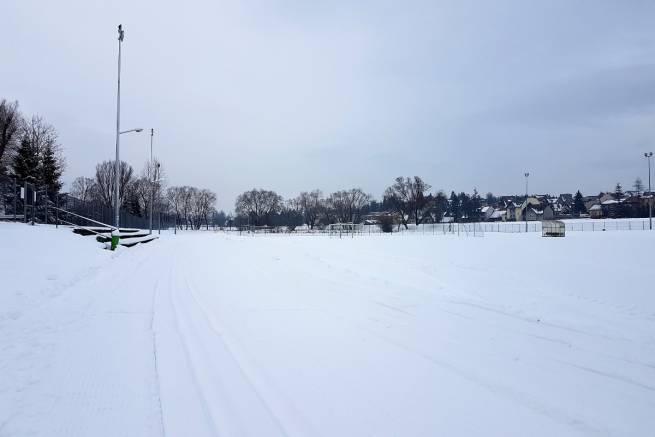 "Nowy Targ informuje o naśnieżonej trasie na stadionie ""Koło"""