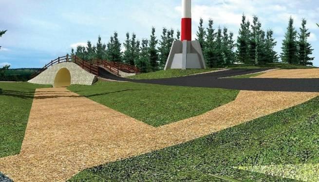 Mostki to jeden z koniecznych do wybudowania elementów Nowych Jakuszyc