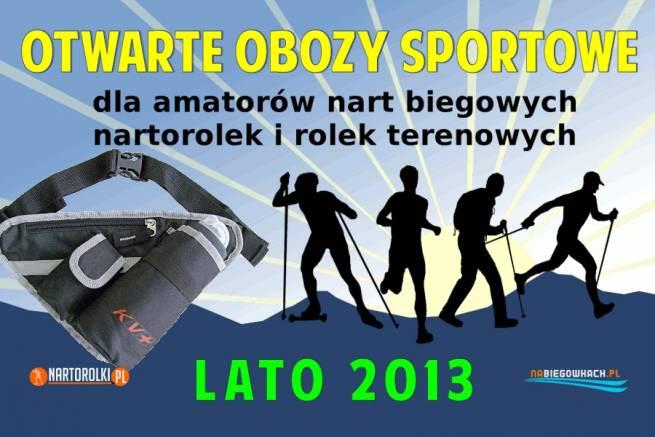 Wyjedź z nami na letni obóz sportowy dla amatorów biegówek i zyskaj praktyczny pas z bidonem KV+