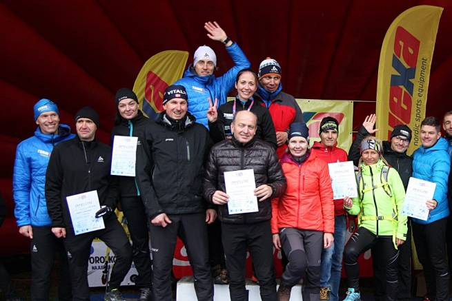 Team nabiegowkach.pl na I i II miejscu klasyfikacji generalnej Vexa Skiroll Tour 2017