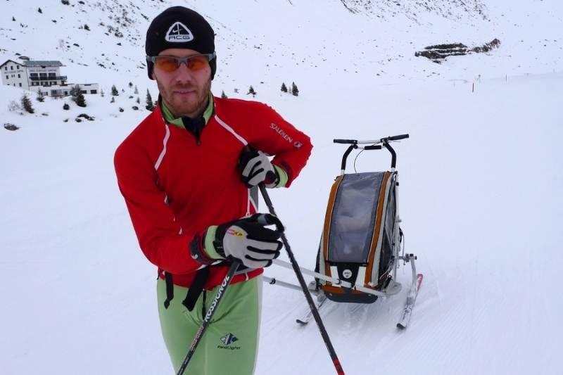 Pojawienie się dziecka nie musi oznaczać długiej przerwy w bieganiu na nartach. Czyżby ?