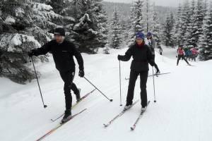 Wspominamy pierwszy w tym sezonie otwarty portalowy kurs narciarstwa biegowego