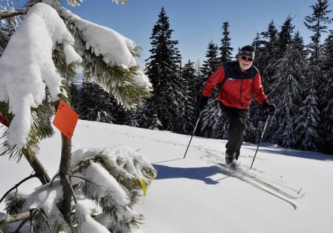 Biegaj na nartach - będziesz żyć dłużej