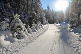 Na granicy raju, czyli trasa maratonu narciarskiego Ultrabiel w Górach Bialskich [GALERIA]