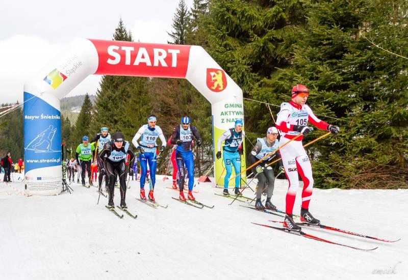 Start do biegu na dystansie 60 km