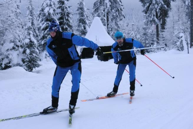 Wirtualny kurs biegania na nartach - technika łyżwowa odc. 2. - dwukrok łyżwowy
