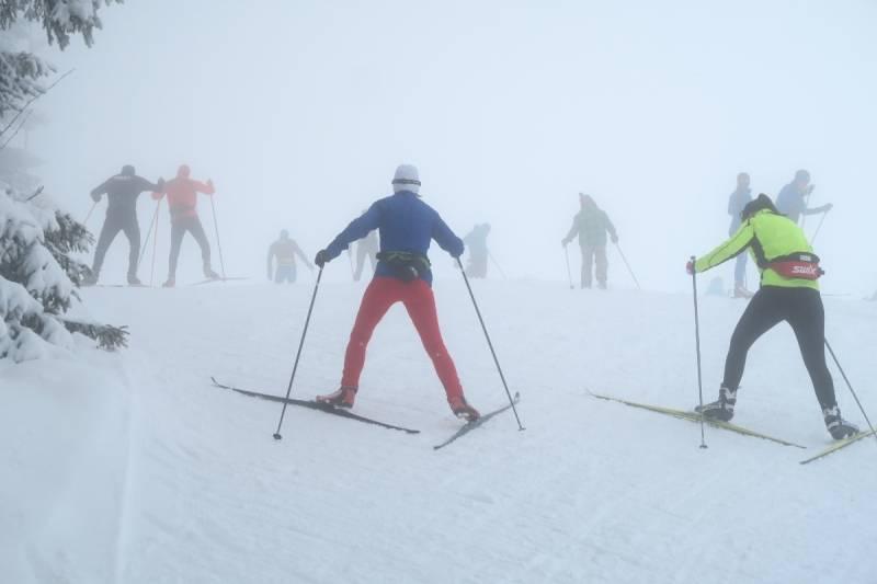 Pierwszy śnieżny trening teamu nabiegowkach.pl odbył się już w listopadzie