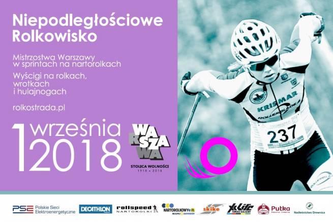 Mistrzostwa Warszawy na nartorolkach w pierwszą sobotę września