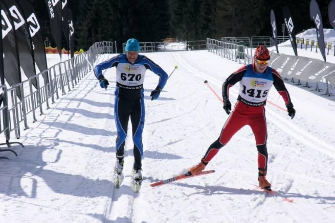 Jakub Mroziński i Tomasz Kałużny walczą do ostatnich metrów