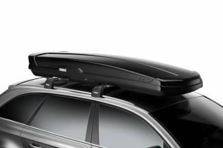 Thule prezentuje Thule Flow: dachowy bagażnik mogący pomieścić biegówki