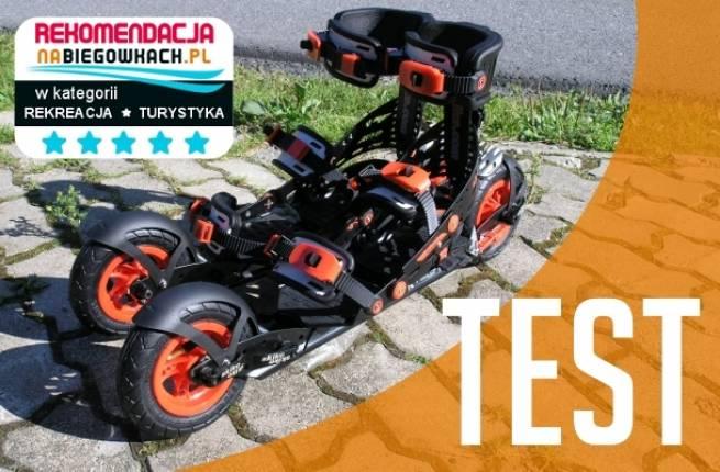 Rolki terenowe Skike VX Twin - TEST