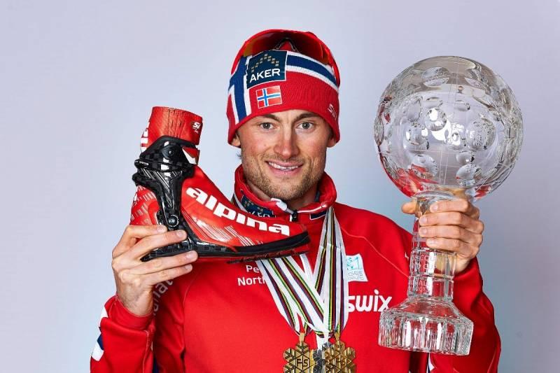 Zdjęcie archiwalne sprzed 2013 roku, gdy Northug biegał w Alpinach
