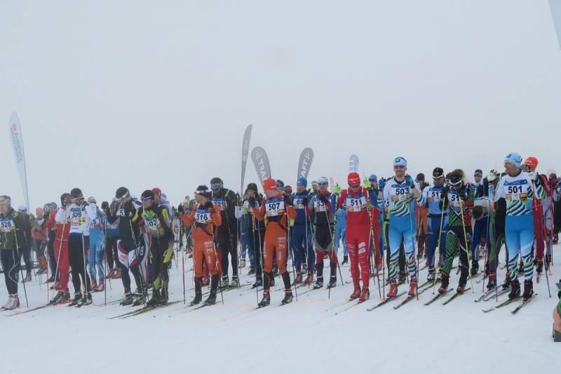 Uczestnikom biegów Jilemnickiej 50. towarzyszyła mgła
