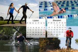 Plan treningowy - początkujący amator - 3 treningi - lipiec, sierpień