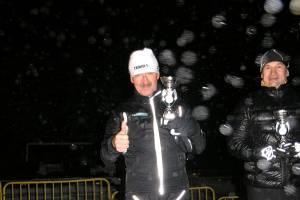 Edward Mucha zajmuje 4. miejsce w Biegu Sylwestrowym