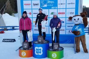 Beata Nowok na najwyższym stopniu podium
