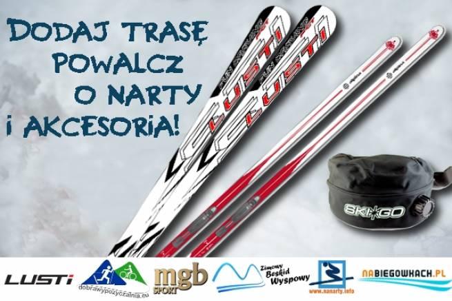 Możesz wygrać narty w konkursie na najlepszą trasę narciarską