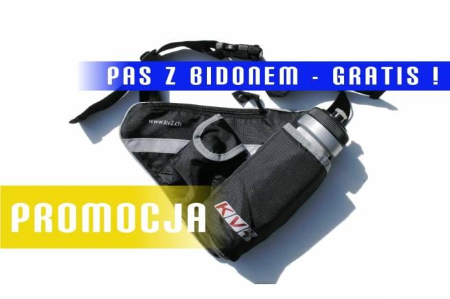 Gratis - pas KV+ z bidonem dla zapisujących się na czerwcowe i lipcowe obozy nabiegowkach.pl