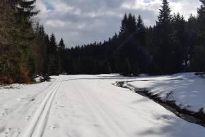 W Górach Bialskich (Bielice) wciaż dużo śniegu, a trasy mają być przygotowane na weekend