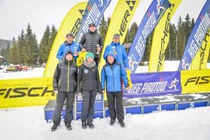 Całe podium M40 w Fischer Cup 9 km dla teamu nabiegowkach.pl
