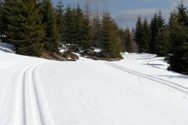 Kwiecień - wciąż wspaniałe warunki do biegania na nartach [ZDJĘCIA]