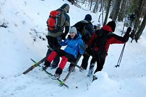 Z Jakuszyc w Karkonosze - kurs bezpiecznej turystyki narciarskiej