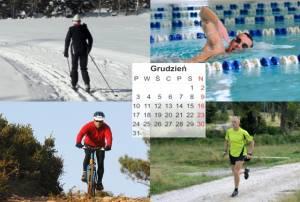 Plan treningowy - początkujący amator - 3 treningi - grudzień