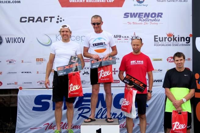 Marek Tokarczyk i Jacek Mederski wygrywają konkurencję wśród weteranów