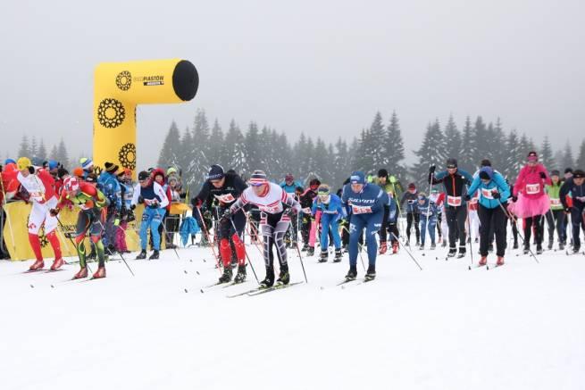 40 zespołów ścigało się w biegach sztafetowych w Jakuszycach