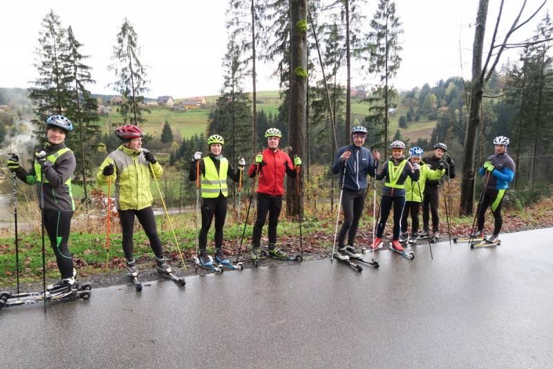 Trzy deszczowe, treningowe dni teamu nabiegowkach.pl na koniec października