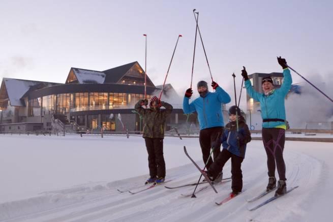 Zawody w narciarstwie biegowym o Puchar Chochołowskiej LOT