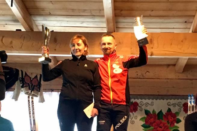 Barbara Byrtys (team nabiegowkach.pl) wygrywa Puchar Kościeliska