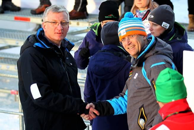 Po lewej Jacek Jaśkowiak